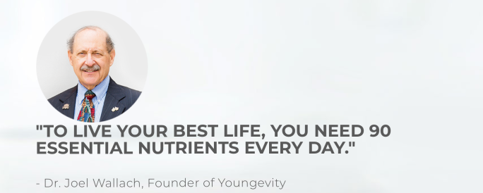 90 Essential Nutrients Every Day